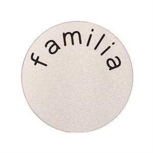 Picture of 'Familia' Large Silver Coin